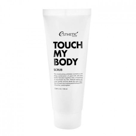 Скраб для тела на основе козьего молока Esthetic House Touch My Body Goat Milk Scrub - фото 1
