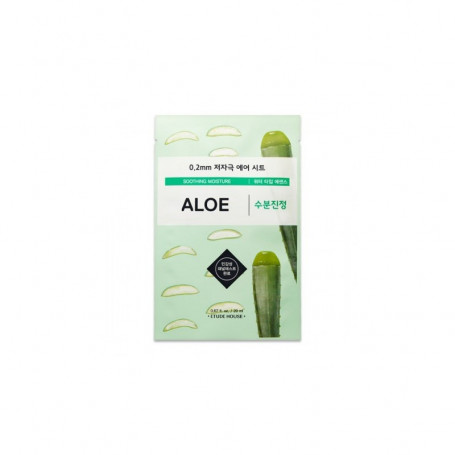 Ультратонкая маска для лица с экстрактом алоэ Etude House Therapy Air Mask Aloe - фото 1