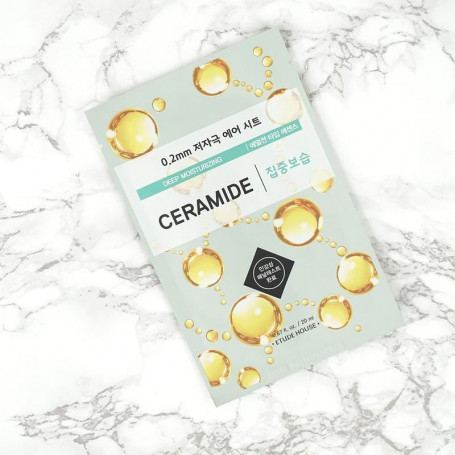 Тканевая маска для лица с керамидами Etude House 0.2 Therapy Air Mask Ceramide Deep Moisturizing - фото 1
