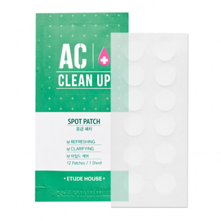 Пластырь от воспалений Etude House AC Cclean Up Patch - фото 1