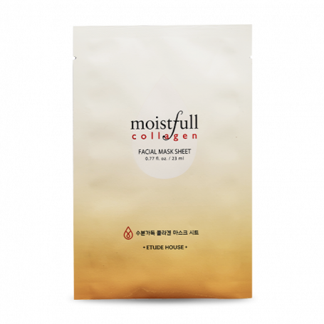 Тканевая маска для лица с коллагеном Etude House Moistfull Collagen Mask Sheet - фото 1