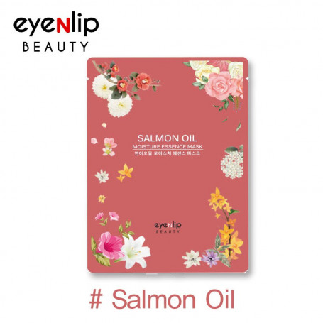 Тканевая маска для лица с маслом лосося Eyenlip Salmon Oil Moisture Essence Mask - фото 1