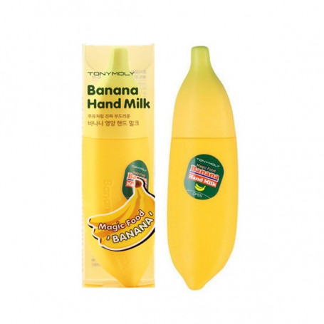 Крем-молочко для рук Tony Moly Magic Food Banana Hand Milk - фото 1