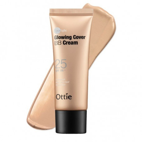 Сияющий BB крем Ottie Spotlight Glowing Cover BB Cream SPF25 PA++ - фото 1