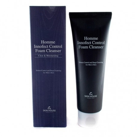 Очищающая пенка для мужчин The Skin House Homme Innofect Control Foam Cleanser - фото 1