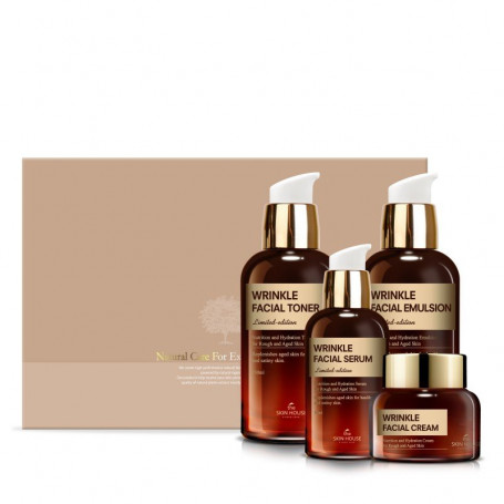 Набор для ухода за зрелой кожей лица The Skin House Wrinkle Facial Set - фото 1