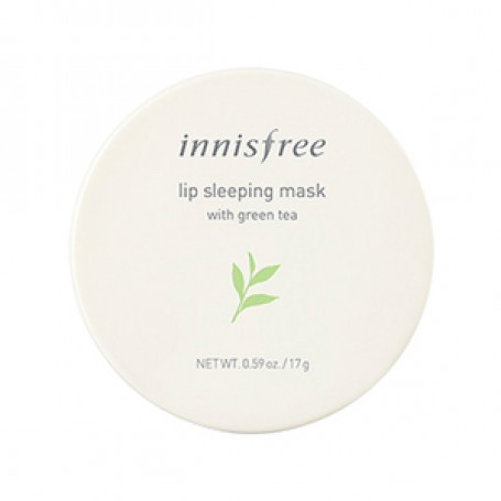 Ночная маска для губ с зеленым чаем Innisfree Lip Sleeping Mask Green Tea - фото 1