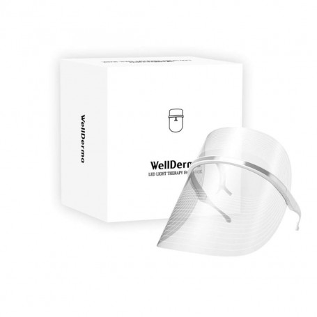 Светодиодная LED-маска для лица Wellderma Led Light Therapy Face Mask (Version 2) - фото 1