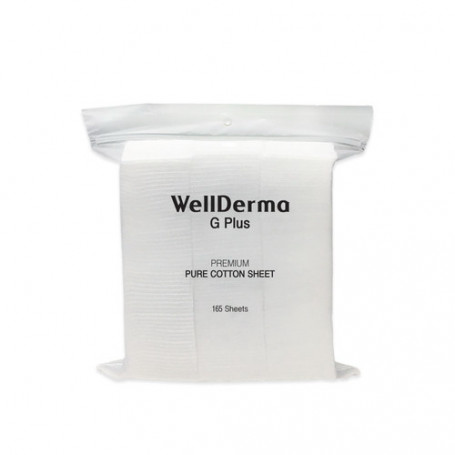 Хлопковые подушечки Wellderma G Plus Premium Pure Cotton Sheet - фото 1