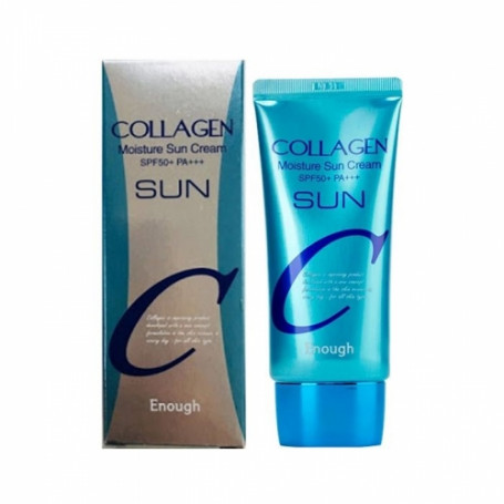 Солнцезащитный крем Enough Collagen Moisture Sun Cream SPF 50+ PA+++ - фото 1