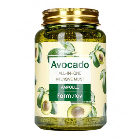 Сыворотка для лица с экстрактом авокадо FarmStay Avocado All-in-one Intensive Moist Ampoule - фото 1