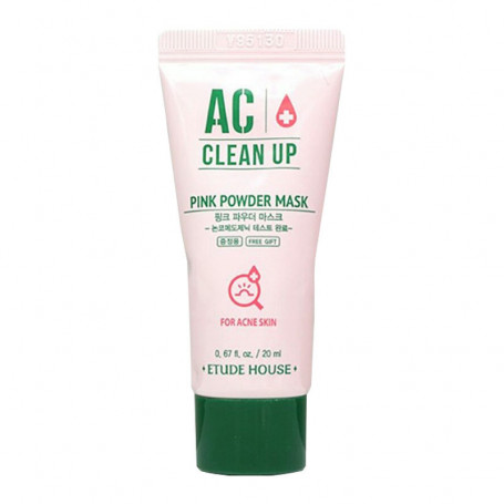 Маска для проблемной кожи лица Etude House AC Clean Up Pink Powder Mask - фото 1