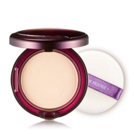 Компактная пудра с коллагеном Etude House Moistfull Collagen Essence in Pact SPF25 PA++ No.Light Beige - фото 1