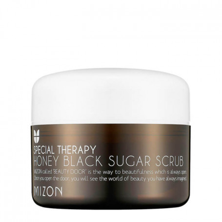 Сахарный скраб для лица Mizon Honey Black Sugar Scrub - фото 1
